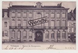 Tienen (maison Du Bourgmestre 1904 - Serie Artistique 4/72) - Tienen