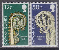 Iles Caïmanes N° 365 / 66 XX Noël  Les 2 Valeurs Sans Charnière,  TB - Cayman Islands