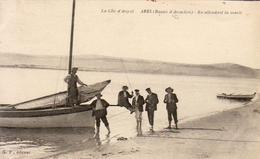 D33  ARÈS  En Attendant La Marée - Arès