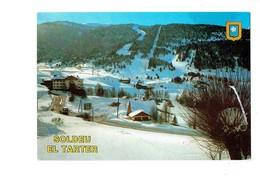 Cpm - Andorre ANDORRA - Vue Générale - M.C. ISCLA 618 - CHASSE-NEIGE - Tache Blanche à Droite - Blason - Andorra