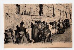 - CPA JÉRUSALEM (Israel) - Le Mur Des Lamentations (belle Animation) - Editions Lévy N° 2 - - Israele