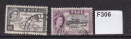 Fiji 1954 6d And 2/6d - Fidschi-Inseln (...-1970)