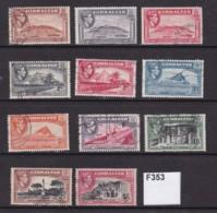 Gibraltar 1938 11 Values To 5/- - Gibraltar
