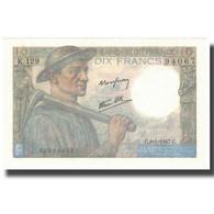 France, 10 Francs, Mineur, 1947, 1947-01-09, SPL, Fayette:8.17, KM:99e - 1871-1952 Anciens Francs Circulés Au XXème