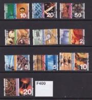 Hong Kong 2002 Cultural Diversity 10 Values To $20 - 1997-... Speciale Bestuurlijke Regio Van China