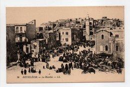 - CPA BETHLÉEM (Palestine) - Le Marché (belle Animation) - Editions Lévy N° 26 - - Palestine