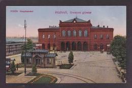 CPA Pologne Polska Polen Voir Scan Du Dos Posen - Polonia