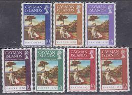 Iles Caïmanes N° 253 / 59 XX  Pâques, La Série Des 7 Valeurs Sans Charnière,  TB - Iles Caïmans