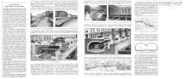 LE PROLOGEMENT De La LIGNE D'ORLEANS Au QUAI D'ORSAY  1899 - Vervoer