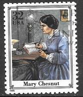 1995 Civil War Single, Mary Chesnut, Used - Vereinigte Staaten