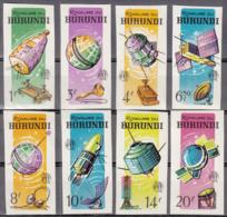 Burundi 138 à 145 ** Non Dentelés - Burundi