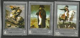 Yemen (YAR)  - 1969 Napoleon Bonaparte Airs MNH ** - Jemen