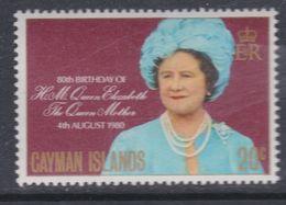 Iles Caïmanes N° 450 XX 80è Anniversaire De La Reine-mère Elisabeth Sans Charnière,  TB - Iles Caïmans