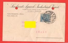 Padova Sindacato Agricolo Industriale Vendita Cereali 1922 Per Noale Venezia - Negozi