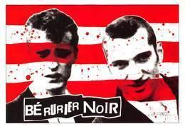Les BERURIER NOIR - Groupe De Punk Rock Français - Illustration José Corréa - Editions Dalix N'35 - Zangers En Musicus