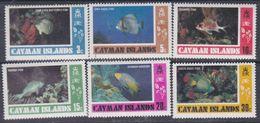 Iles Caïmanes N° 415 / 20 XX Poissons De Caïmanes (I), La Série Des 6 Valeurs Sans Charnière,  TB - Cayman Islands
