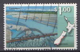 Nouvelle-Zélande 1997  Mi.nr.: 1616 Panorama-Eisenbahnstrecken   Oblitérés / Used / Gestempeld - New Zealand