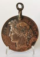 Médaille Prix De Gymnastique Offert Par Le Ministre De La Guerre - Frankrijk