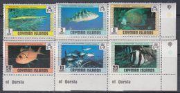 Iles Caïmanes N° 427 / 32 XX Poissons De Caïmanes (II), La Série Des 6 Valeurs Sans Charnière,  TB - Cayman Islands