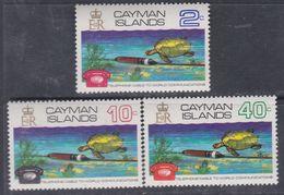 Iles Caïmanes N° 299 / 301 XX Câble Sous-marin Pour Les Liaisons Téléphoniques, Les 3 Valeurs Sans Charnière,  TB - Cayman Islands