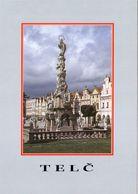 1 AK Tschechien * Die Historische Altstad Von Telc Mit Der Mariensäule - Seit 1992 Weltkulturerbe Der UNESCO * - Tchéquie
