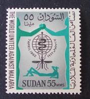 LUTTE CONTRE LE PALUDISME 1962 - NEUF ** - YT 143 - Sudan (1954-...)