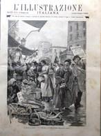 L'Illustrazione Italiana 21 Dicembre 1890 Koch Tubercolosi Alula Santo Spirito - Before 1900