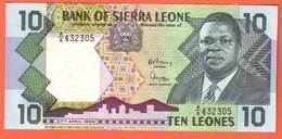 Billet - SIERRA  LEONE  10 Leones 27 04 1988  Pick 15 - Sierra Leone