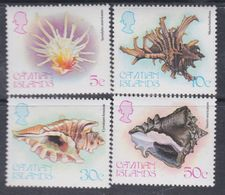 Iles Caïmanes N° 451 / 54 XX Faune Marine : Coquillages, Les 4 Valeurs Sans Charnière,  TB - Iles Caïmans