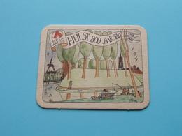 HULST 800 Jaar Stad 1180 - 1980 ( Sous Bock / Coaster / Onderlegger STELLA ARTOIS ) Zie Foto ! - Portavasos