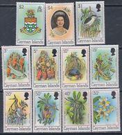 Iles Caïmanes N° 459 / 69 XX Série Courante : La Vie Autour Du Palétuvier, Les 11 Valeurs Sans Charnière,  TB - Cayman Islands