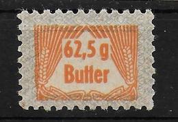 Deutsches Reich Lebensmittelmarke Butter Cinderella - Allemagne