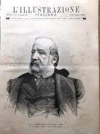 L'Illustrazione Italiana 28 Dicembre 1890 Morte Gerolamo Induno Pietrasanta Pisa - Before 1900