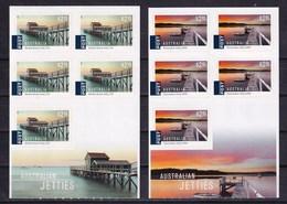 Australia 2017 Australian Jetties 2 SA Booklets MNH - 2010-... Elizabeth II