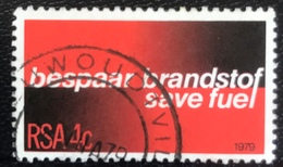 RSA - Republic Of South Africa - Republiek Van Suid-Afrika - (o) Used - Ref 14 - 1979 - Energiebesparing - África Del Sur (1961-...)