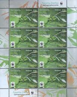 354 - Belarus - 2010 - Dragonfly The Green Snaketail WWF - Sheetlets Of 8v - MNH - Lemberg-Zp - Belarus