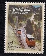 2010  Austria Österreich  Mi. 2864 **MNH .  Die Mendelbahn. - 1945-.... 2. Republik