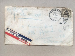 USA 1939 Air Mail Cover Woodbury N.J. To Scotland With Handwritten: `By Air Mail Yankee Clipper` - Storia Postale