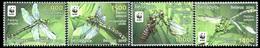 353 - Belarus - 2010 - Dragonfly The Green Snaketail WWF - 4v - MNH - Lemberg-Zp - Belarus