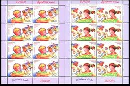 355 - Belarus - 2010 - Europa Children's Books - 2 Sheetlets - MNH - Lemberg-Zp - Belarus