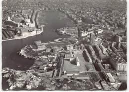 MARSEILLE -  Vue Aerienne. Le Vieux Port Le Jardin Du Pharo Forts St Jean Et  St Nicolas. Photo Espigue - Marseille