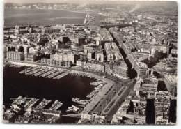 MARSEILLE -   Le Vieux Port . Bassin De La Joliette. Vue Aerienne. La France Vue Du Ciel Edit Artaud    Postée 1955 - Marseille
