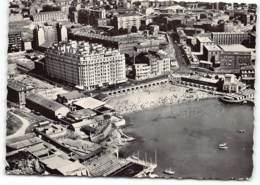MARSEILLE  -VUE AERIENNE De La PLAGE Des CATALANS Et De La PISCINE Du CERCLE Des NAGEURS CPSM GF - Marseille