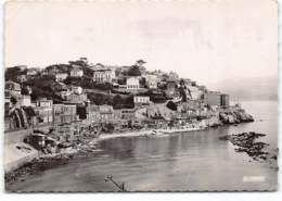 MARSEILLE - Promenade De La Corniche.  Quartier Des Prophetes.  Vue Aerienne La Cigogne  CPSM GF   Postée 1952 - Marseille