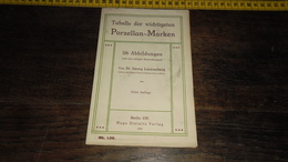 PORZELLAN MARKEN _ ANNO 1916_____ BOX : F - Cerámica Y Alfarerías