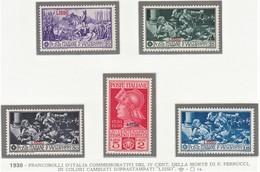 ITALIA 1930  COLONIE E POSSEDIMENTI EGEO 1930 LIPSO  SERIE FERRUCCI SASSONE S.61  MNH  QUALITA' ECCEZZIONALE - Aegean (Lipso)