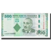 Billet, Tanzania, 500 Shilingi, KM:40, NEUF - Tanzanie