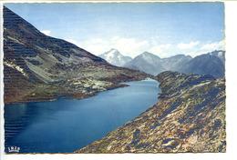 CPSM Dentelée 10.5 X 15 Isère ALPE-D'HUEZ (1850m) Le Lac Blanc Et Le Pic De La Muzelle - France