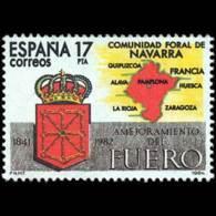 ESTATUTOS AUTONOMIA - AÑO 1984 - Nº EDIFIL 2740 - USADO - 1981-90 Usados