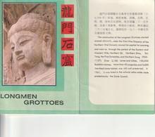 CPM - Chine - Grottes De Longmen - Longmen Grottoes - Pochette De 10 Cartes - Années 80 - China